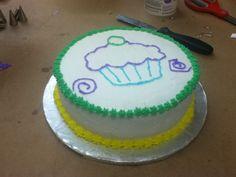 Cake decorating class #2 - my cake