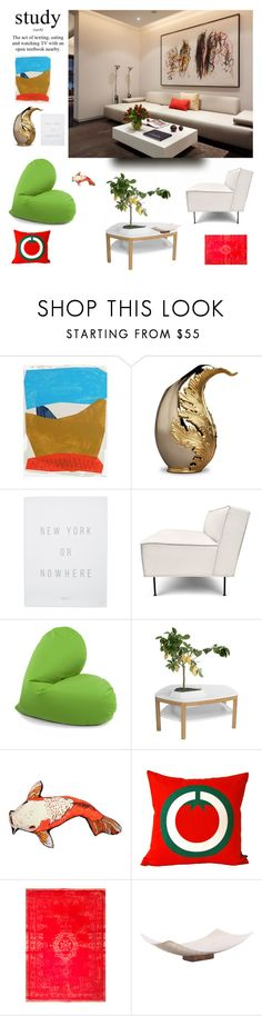 """""""Chill time..."""" by sue-mes ❤ liked on Polyvore featuring interior, interiors, interior design, home, home decor, interior decorating, Alan Fears, L'Objet, Knowlita and Gubi"""