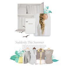 Light Summer by spicemarket on Polyvore featuring Prophecy, Chloé, Victoria Beckham, John Lewis, Mineheart and Sloane Stationery