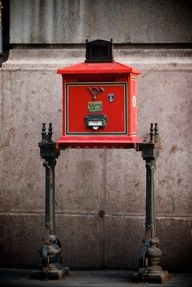A traditional red post box in Budapest front of BW Hotel Hungaria- Hungary Post Bus, Capital Of Hungary, Budapest Things To Do In, Visit Budapest, Hungary Travel, Heart Of Europe, Central Europe, My Town, Post Office