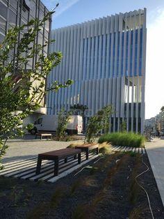 LINHA LUGARCOMUM - Preview  Arranjos Exteriores da Nova Sede EDP, na Avenida 24 de Julho  Projeto: 92 Arquitectos Lda | Arquitectos João Almeida e Luis Torgal