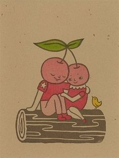 Cherries illustration