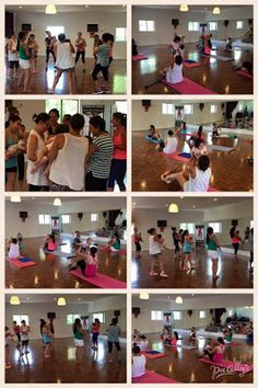 Kangatraining in session at A Touch of Salsa dance studio. Photo source: A Touch of Salsa.