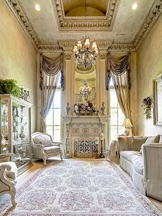 Home of the Week: An Enchanting Castle in Colleyville | The home is luxurious and elegant with exceptional features such as a hand-forged wrought-iron staircase, domed ceilings, chandeliers, and floors in hand-scraped hardwood floors or lush sculptured carpeting. | 4901 Rockrimmon Court #mansion #beautiful #luxury