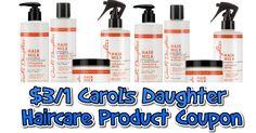 $3/1 Carol's Daughter Haircare Product Coupon and Target Deal - https://couponsdowork.com/2017/coupon-deals/31-carols-daughter-haircare-product-coupon-and-target-deal/