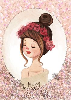 Rose by Diana Pedott, via Behance