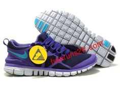 promo code 3f72e 7b377 Femmes Nike Free 3.0 V3 De Course Obsidienne Violet Bleu Turquois Chaussures  Nike Free 3,