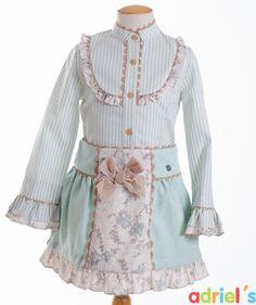 Conjunto falda y camisa de Dolce Petit