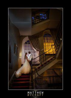 30 James Street Wedding, Liverpool Wedding Venue, Matthew Rycraft, Wedding Photography, Staircase, Flash, Speedlight, Lighting.