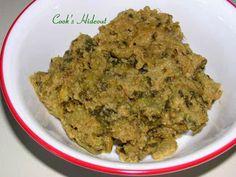 Cook's Hideout: Kakarakaya Kura - Bitter Gourd Curry