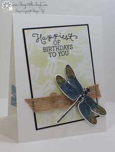 Stampin' Up! Dragonfly Dreams Birthday