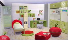 Wanna Bite? kids room at SIMcredible! Designs 4 • Sims 4 Updates