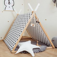 I've just found Black Cross Playhouse Set. This A-frame tent is CONVERTIBLE to a clothes hanger- how cool is that! All parts are included. Beautiful tent for kids to have fun in!. £175.00