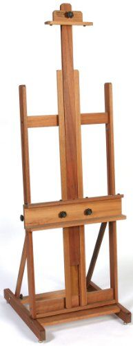 """H frame easel like this one:  Jack Richeson Lyptus Wood """"Dulce"""" Easel Jack Richeson http://www.amazon.com/dp/B000H6YDIW/ref=cm_sw_r_pi_dp_sVIAub13R5RHM"""