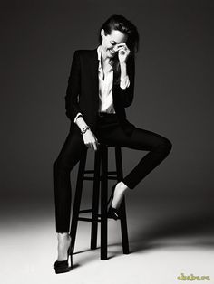 Angelina Jolie - Hedi Slimane 2014 photoshoot for Elle magazine