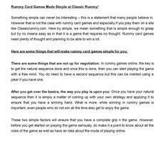 from Rummy card games Cash Prize, Online Games, Card Games, Make It Simple, Classic, Cards, Derby, Classic Books, Maps