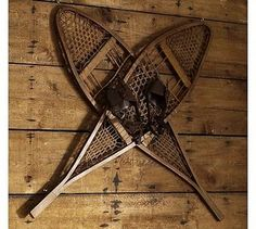 snow shoes-looking for some like these--what happened to the ones from the quonset on the farm, I wonder?