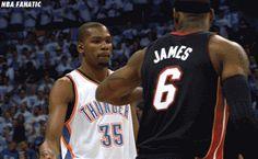 KD & LeBron James