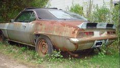 Check back next week for a new 1968 Camaro, Chevrolet Camaro, Abandoned Cars, Abandoned Vehicles, Junkyard Cars, Weather Models, Vintage Pickup Trucks, Car Barn, Rusty Cars