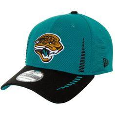 Mens Jacksonville Jaguars '47 Brand Teal Game Time Closer Flex Hat