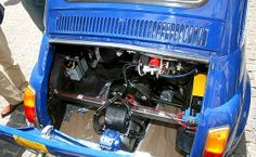 fiat 500 electric engine