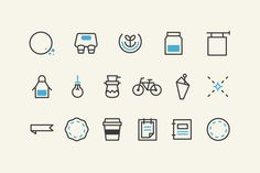 This collection contains 100 Stock Vector files. Stylish, adaptable, versatile and above all, simple, this set of 100 icons works very well for restaurant menus, cafe signage, product designs, window displays, presentations, web site designs, and many other restaurant, cafe and food-based design scenarios.