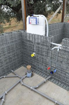 An Italian company called Presanella Building System is innovating in the . - Paulo Couto - building called company Couto innovating Italian Paulo Presanella System - An Italian company called Presanella Building System is innovating in the . Building Systems, Building Design, Building A House, Plumbing Drains, Bathroom Plumbing, House Drainage System, Swimming Pool Construction, Plumbing Installation, Bathroom Layout