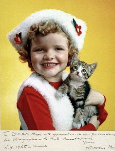 Parents magazine, girl with cat, Maker: Nickolas Muray (American ° Crazy Cat Lady, Crazy Cats, Nickolas Muray, Cat People, Vintage Cat, Vintage Style, Retro Christmas, Vintage Children, Cat Day