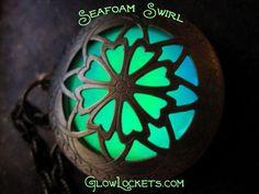Seafoam Swirl Glow Locket  ™