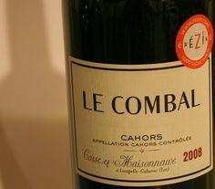Le Combal - vin rouge - France - Sud-Ouest - Cahors - Code SAQ : 10675001 - Producteur : Cosse et Maisonneuve