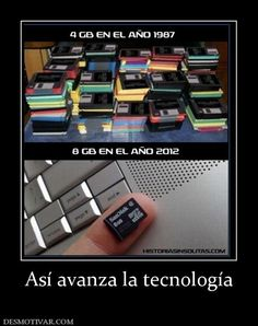 Avance de la tecnología