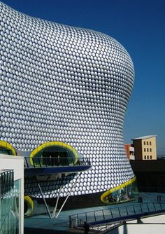 The Bullring shopping centre in Birmingham - one of Britain's most unusual buildings and the epicentre of urban regeneration in our second city.