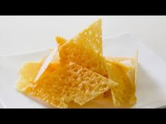 How To Make Parmesan Chips / Crisps - Video Recipe Short & sweet video. This looks the easiest way :)