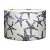 Temple & Webster Starfish Indigo Lampshade - This vintage starfish lampshade will be taking you to a beach house for the summer.  Composed of fabric and metal frame.  Available at Temple & Webster and cost $129.  Enquire on the Temple & Webster website for more info.