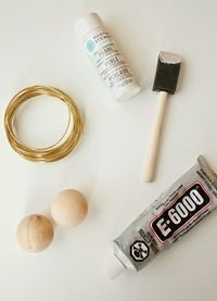 How to make a pearl bracelet. Chanel Inspired Giant Pearl Bracelet - Step 1