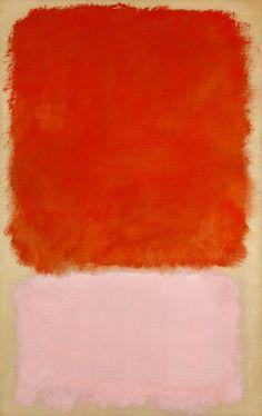 Color Inspiration Mark Rothko - Untitled 1968 #Rothko #RussianRiverFlowerSchool