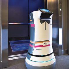Robotic Butler Now Serving Guests at Aloft Hotels
