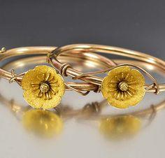 Antique Rose Gold Victorian Wedding Bracelet Set