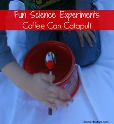 science experiment- coffee can catapult