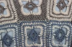 Crochet multicolor vest in patch work with one by TheFrenchYarn