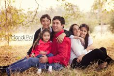 Cute pose for family of 5