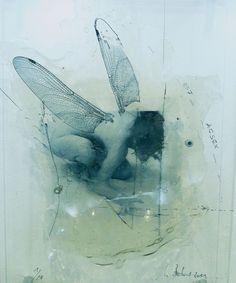 "Saatchi Online Artist: Ulrike Bolenz; Photograph, 2011, Mixed Media ""Kleine Libelle"""