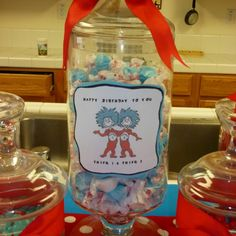 Candy buffet idea for dr suess party
