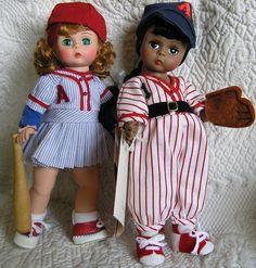 Baseball Madame Alexander Dolls