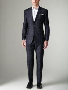 Paul Smith The Byard Windowpane Suit...Oh, hello!