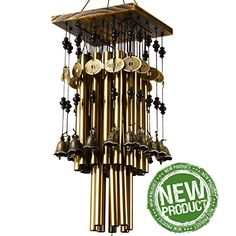 Ylyycc Brassiness Wind Chime 24 Tube Metal Windbell Money... https://smile.amazon.com/dp/B00NFKUE26/ref=cm_sw_r_pi_dp_x_StlvybAM075FX