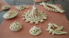 Traditional hand made Sardinian bread.