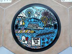 art design   street design   manhole cover   japan   otsu 100