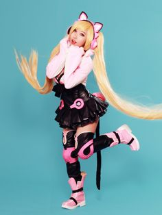 cosplayfanatics:  Lucky Chloe from Tekken 7 Cosplay by...