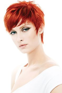 Short red hairstyles for women |